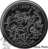 Canada: 1999 July 25 Cent BU