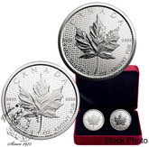 Canada: 2017 $5 30th Anniversary of the Silver Maple Leaf - Two Silver Coin Set