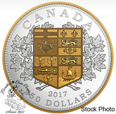 Canada: 2017 $250 A Tribute To The First Canadian Gold Coin Fine Silver Coin