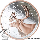 Canada: 2018 $30 5 oz. Big Coin Series: 25-Cent Piece Pure Silver Coin
