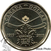 Canada: 2017 $1 100th Anniversary of The Toronto Maple Leafs BU