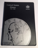 United States: 1946-2005 Dimes Uni-Safe Coin Folder