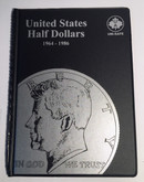 United States: 1964-1986 Half Dollars Uni-Safe Coin Folder