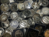 Canada: 1971 to 1991 Silver Dollars (Price per coin) - We choose the year