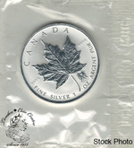 Canada: 2004 $5 1 oz Zodiac Privy: Gemini Silver Maple Coin