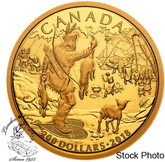 Canada: 2018 $200 Early Canadian History: First Nations Pure Gold Coin