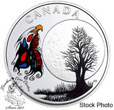 Canada: 2018 $3 The Thirteen Teachings From Grandmother Moon: Spirit Moon Fine Silver Coin