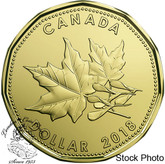 Canada: 2018 $1 Maple Leaves Loonie