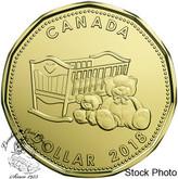 Canada: 2018 $1 Baby Crib & Teddy Bears Loonie
