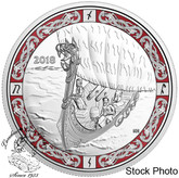 Canada: 2018 $20 Norse Figureheads: Viking Voyage Fine Silver Coin
