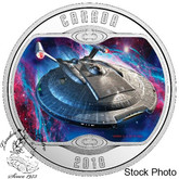 Canada: 2018 $10 Star Trek: Enterprise NX-01 Silver Coin