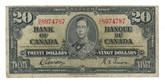 Canada: 1937 $20 Bank Of Canada D/E 8974787