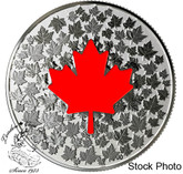 Canada: 2018 $5 Hearts Aglow - Pure Silver Glow-in-the-Dark Coin