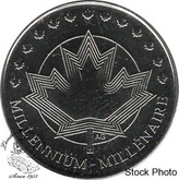 Canada: 1999 Millennium Token 25 Cent Proof Like