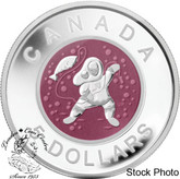 Canada: 2013 $5 Mother and Baby Ice Fishing Coin