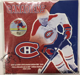 Canada: 2010 Montreal Canadiens NHL 50 Cent Coloured Coin