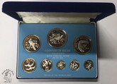 Belize: 1976 Proof Silver Coin Set (8 Coins)