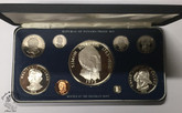 Panama: 1975 Proof Coin Set (9 Coins)