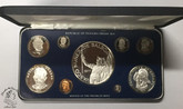 Panama: 1977 Proof Coin Set (9 Coins)