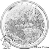 Canada: 2013 $250 Battle of Châteauguay Pure Silver Kilogram Coin