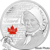 Canada: 2012 $4 Laura Secord Silver Coin