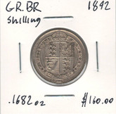 Great Britain: 1892 Shilling