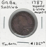 Great Britain: 1787 Shilling Hearts
