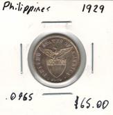 Philippines: 1929 20 Centavos