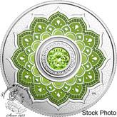 Canada: 2018 $5 Birthstones: August Fine Silver Coin