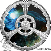 Canada: 2018 $20 Star Trek™: Deep Space Nine Pure Silver Coloured Coin