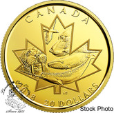 Canada: 2018 $20 Symbols of the North Pure Gold Coin