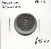 Faustina: 141-161 Denarius