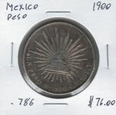 Mexico: 1900 Peso