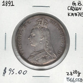 Great Britain: 1891 Crown