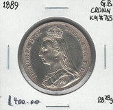Great Britain: 1889 Crown