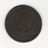 French States: Nevers & Rethel: 1610 2 Liard