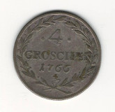 German States: Bavaria: 1766 4 Groschen