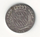 German States: Bavaria: 1828 6 Kreuzer