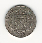 German States: Bavaria: 1835 6 Kreuzer