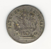German States: Bavaria: 1755 10 Kreuzer