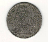 German States: Bavaria: 1768 10 Kreuzer