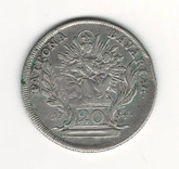 German States: Bavaria: 1754 20 Kreuzer