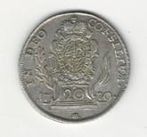 German States: Bavaria: 1770A 20 Kreuzer