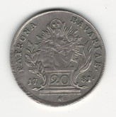 German States: Bavaria: 1781 20 Kreuzer