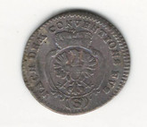 German States: Bradenburg - Ansbach: 1778 2 1/2 Kreuzer F
