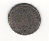 German States: Bradenburg - Ansbach: 1780 2 1/2 Kreuzer VF