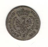 German States: Bradenburg - Ansbach: 1785 2 1/2 Kreuzer VF
