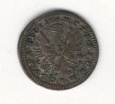 German States: Bradenburg - Bayreuth: 1751 Kreuzer VF