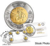 Canada: 2016 $2 Battle of the Atlantic 5 Coin Pack