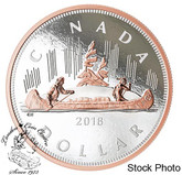 Canada: 2018 5 oz. Big Coin Series: Dollar Pure Silver Coin